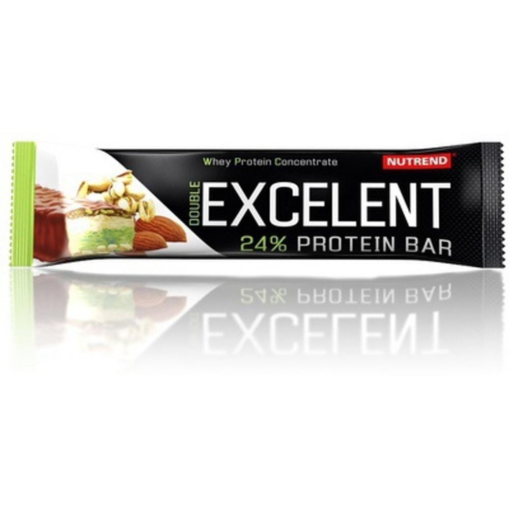 EXCELENT protein bar DOUBLE, 40 g, mandle + pistacie s pistáciemi