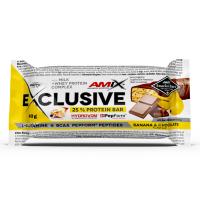 AMIX Exclusive protein bar banán a čokoláda 40 g