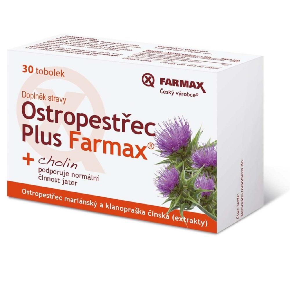 Farmax Ostropestrec Plus 60 kapsúl