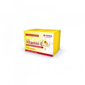 FARMAX Vitamin C s postupným uvoľňovaním 60 + 30 kapsúl ZADARMO
