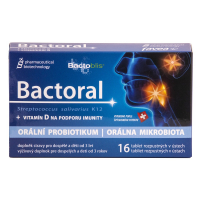 FAVEA Bactoral + Vitamín D 16 tabliet