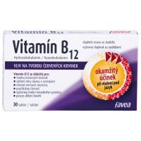 FAVEA Vitamín B12 30 tabliet