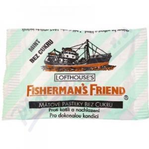 Fishermans friend cukríky dia eukalypt.25g modré