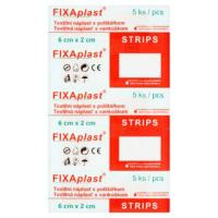Náplasť Fixaplast Strips 6x2 cm 5 ks