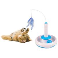 FLAMINGO Interaktívna hračka pre mačky 18 x 18 cm