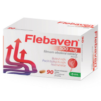 FLEBAVEN 500 mg 90 tabliet
