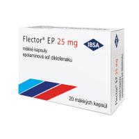 FLECTOR EP 25 mg mäkké kapsuly 20 kusov