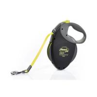 FLEXI Vodítko s pásikom neon Giant Professional L 10 m/50 kg