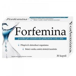 FORFEMINA prípravok na odvodnenie tela 30 kapsúl