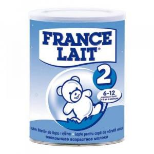 France Lait 2 následná výživa od 6-12 mesiacov 400g