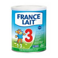 FRANCE LAIT 3 Mliečna výživa pre rastúce deti od 1 do 3 rokov 400 g