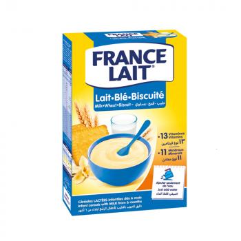 FRANCE LAIT Pšeničná mliečna kaša sušienková 250 g