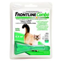 FRONTLINE Combo Spot-On pre mačky a fretky sol (na kožu) 1x0,5 ml