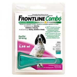 FRONTLINE Combo Spot-On pre psy L sol (na kožu, psy 20-40 kg) 1x2,68 ml