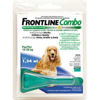 FRONTLINE Combo Spot-On pre psy M sol (na kožu, psy 10-20 kg) 1x1,34 ml