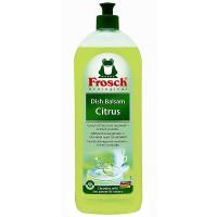 FROSCH balzam na umývanie riadu citrón 750 ml