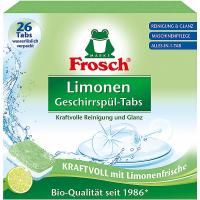 FROSCH EKO Tablety do umývačky všetko v 1 citrón 26 tabliet