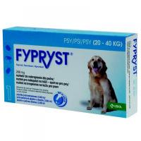 FYPRYST 268 mg PSY 20-40 kg roztok na kvapkanie na kožu pre psov (pipeta) 1x2,68 ml