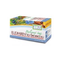 FYTOPHARMA Eudiaben so škoricou bylinný čaj 20 vreciek