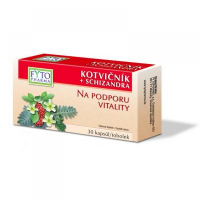 FYTOPHARMA Kotvičník + schizandra na podporu vitality 30 kapsúl