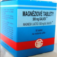 GALVEX Magnéziové tablety 500 mg 50 ks