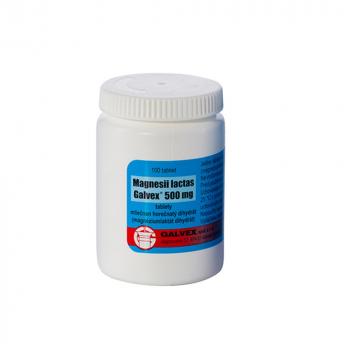 GALVEX Magnéziové tablety 500 mg 50 ks