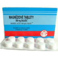 GALVEX Magneziové tablety 500 mg 80 tabliet