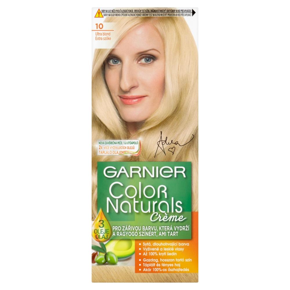 GARNIER Color Naturals farby na vlasy odtieň 10 veľmi svetlá blond