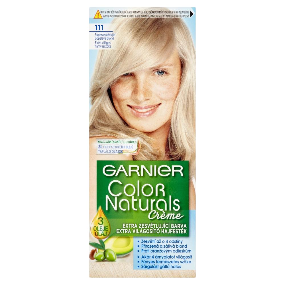 GARNIER Color Naturals farby na vlasy odtieň 111 zosvetľovač popolavo blond