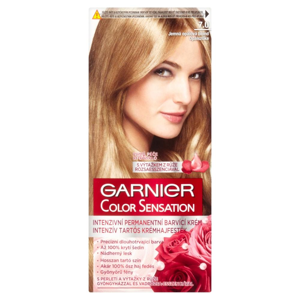 GARNIER Color Sensitive farby na vlasy odtieň 7.0 blond