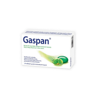 GASPAN 90mg/50mg mäkké gastrorezistentné kapsuly 14 kusov