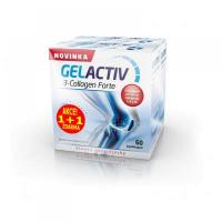 GelActiv 3-Collagen Forte 60 + 60 kapsúl ZADARMO