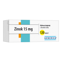 GENERICA Zinok 15 mg 120 tabliet