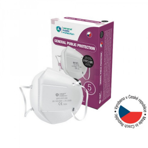 GENERAL PUBLIC PROTECTION FFP3 NR 5 kusov Jednorazový ochranný respirátor