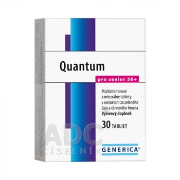 GENERICA Quantum Pro Senior 50+ tbl 1 x 30 ks