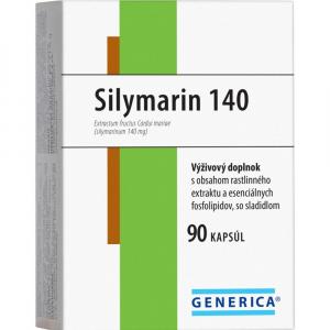 GENERICA Silymarin 140 mg 90 kapsúl
