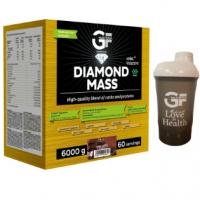 GF NUTRITION Diamond mass čokoláda 6 kg + ŠEJKER 600 ml zadarmo
