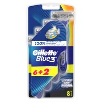 GILLETTE Blue3 holítko 6 + 2 ks