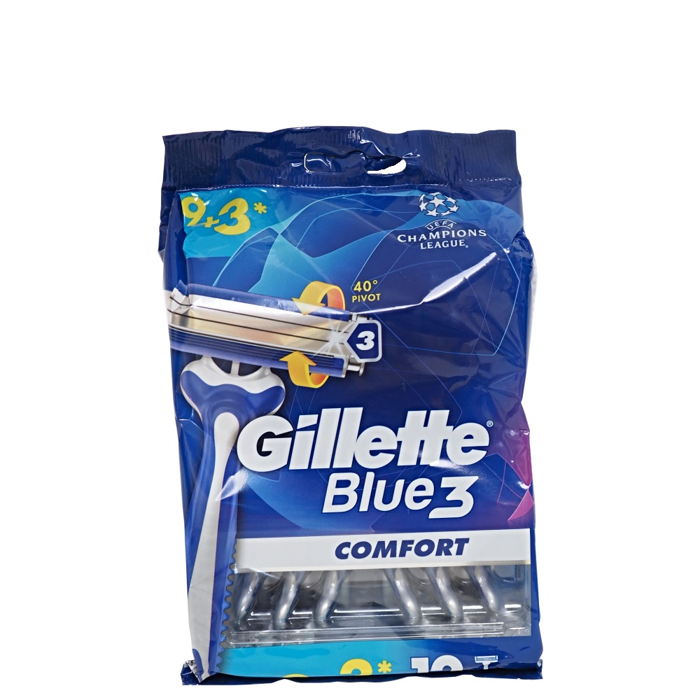 GILLETTE Blue3 holiaci strojček 12 ks