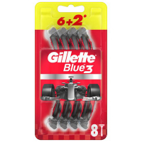 GILLETTE Blue3 Nitro Jednorazový holiaci strojček 8 ks