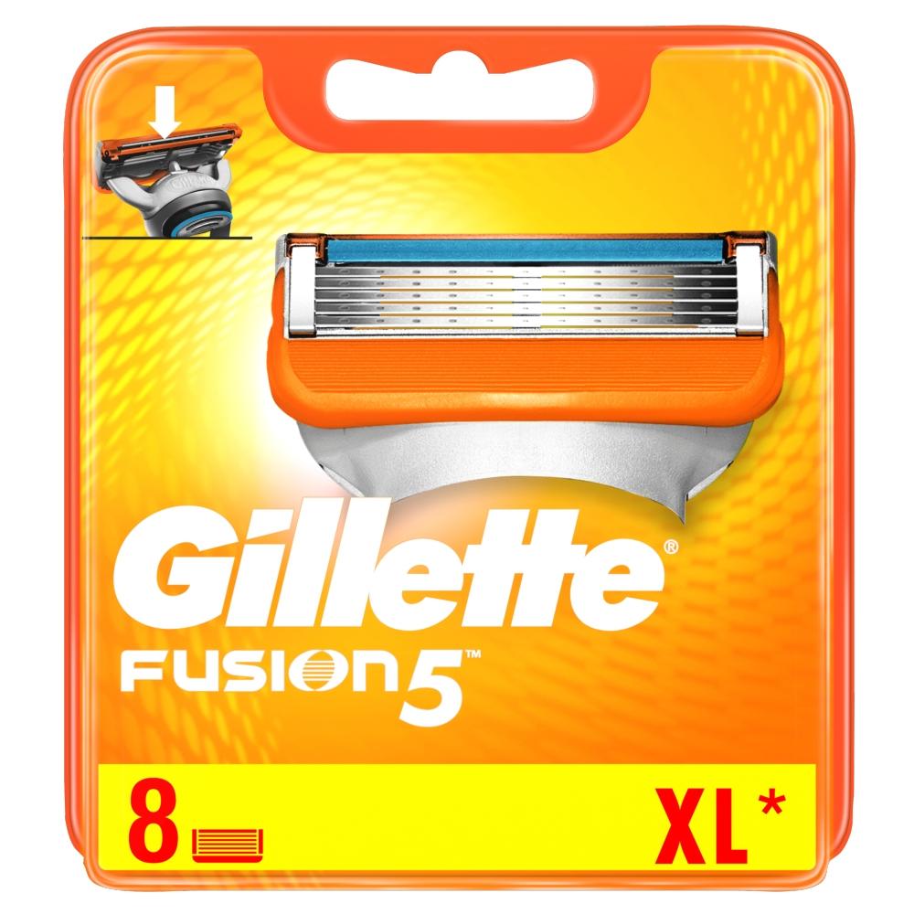 Gillette FUSION náhradné hlavice 8ks