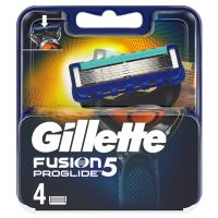 GILLETTE Fusion ProGlide holiace hlavice pre mužov 4 ks