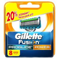 Gillette Fusion Proglide Power 1ks (8 ks Náhradných hlavíc)