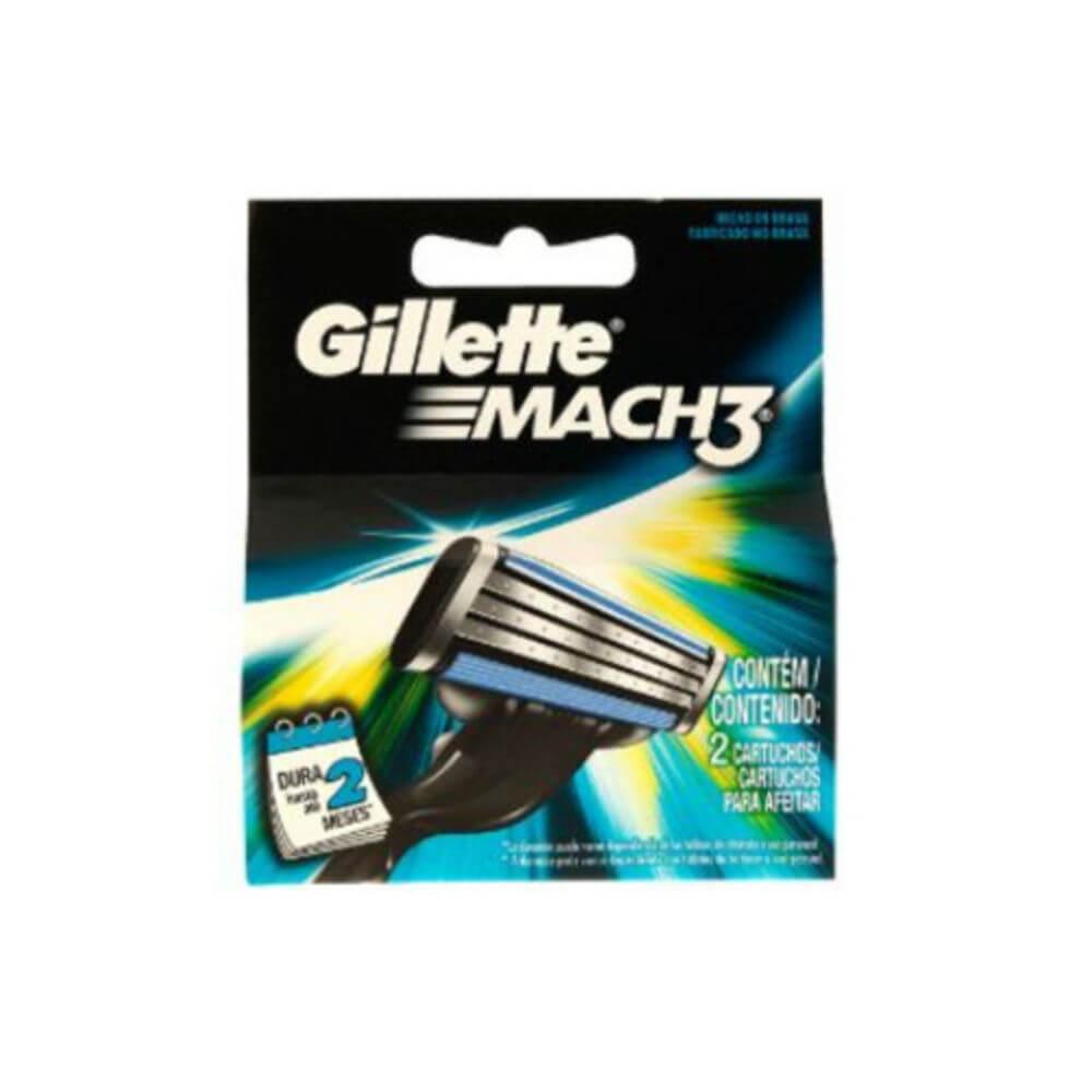 GILLETTE MACH3 ŽILETKY 2KS