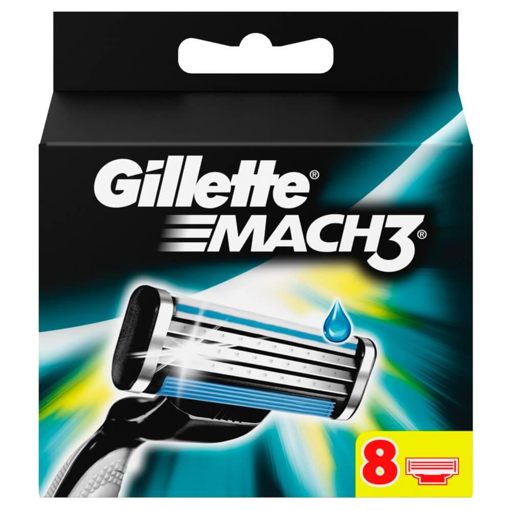 GILLETTE MACH 3 náhradné hlavice 8KS