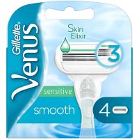 GILLETTE Venus Sensitive Smooth Náhradné hlavice 4 ks