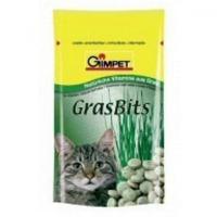 Gimpet mačka Tablety GrasBits s mačacie trávou 50g