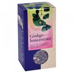 Ginkgo - koncentrácia bio, zelený čaj syp. S bylinkami 50g