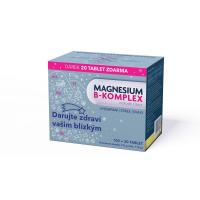 GLENMARK Magnesium B-komplex 100+20  tabliet VIANOCE