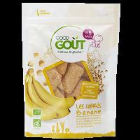 GOOD GOUT Banánové vankúšiky BIO 50 g